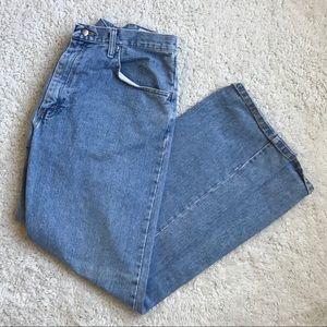 Light wash Wrangler Straight Leg Jeans, 36*32